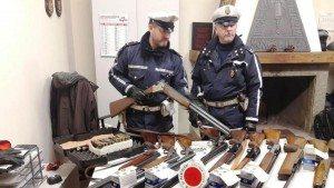 Moncalieri fucili sequestrati cacciatori-kab-U1100186036196O5H-1024x576@LaStampa.it